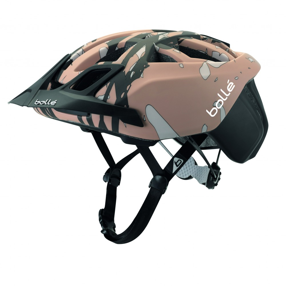 CASCA CICLISM THE ONE MTB BLACK & BROWN  CAMO