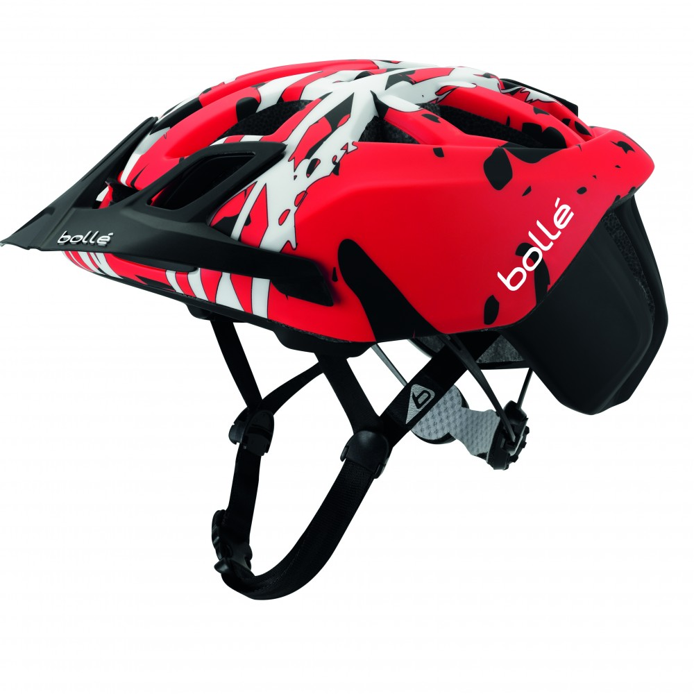 CASCA CICLISM THE ONE MTB BLACK & RED CAMO